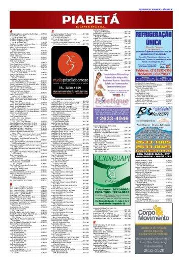 A B C D - Lista Telefônica Eguitel