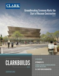 National Museum of African American History and Culture - Clark ...