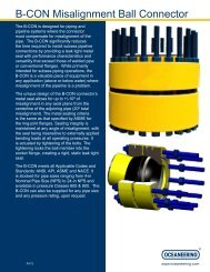B-CON Misalignment Ball Connector - Oceaneering