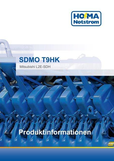 SDMO T9HK - HO-MA-Notstrom