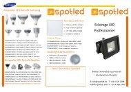 Flyer Spotled Produits Phares FR