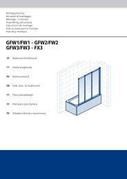 GFW1/FW1 - GFW2/FW2 GFW3/FW3 - FX3 - Duka