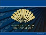 View - Mandarin Oriental Hotel Group
