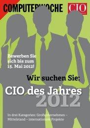CIO des Jahres