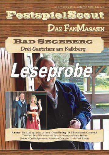 Leseprobe Nr. 3 - FestspielScout.de