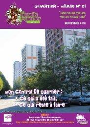 Journal du Quartier-village 21 - Ville d'Agen