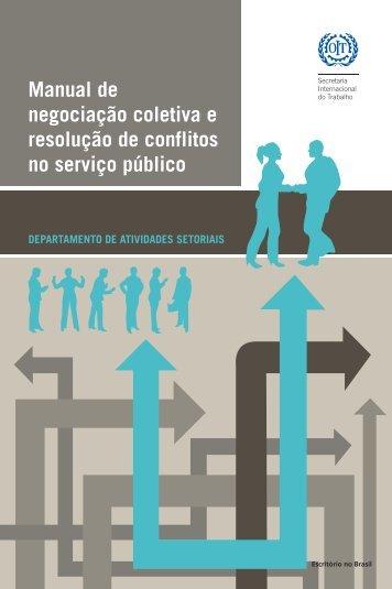 Manual de negociacao coletiva - International Labour Organization