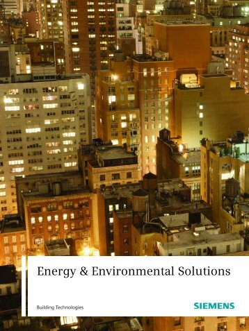 Energy & Environmental Solutions - Siemens