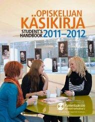 STUDENT'S HANDBOOK - Kymenlaakson ammattikorkeakoulu
