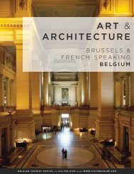Art & Architecture in Brussels & French Speaking Belgium