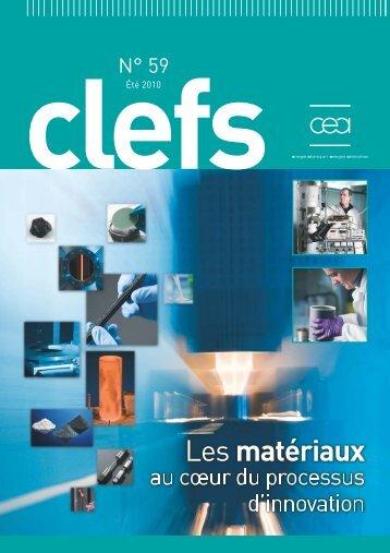 Les matériaux au cœur du processus d'innovation - complet - CEA