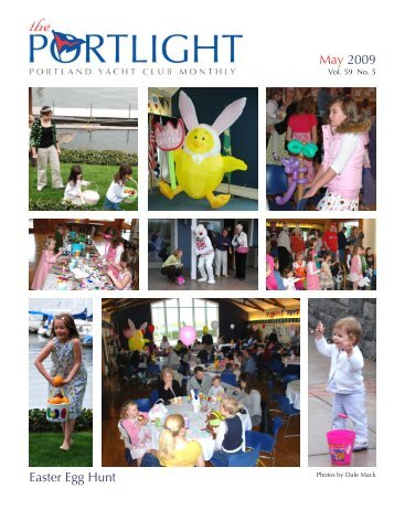 May 2009 Easter Egg Hunt - Portland Yacht Club