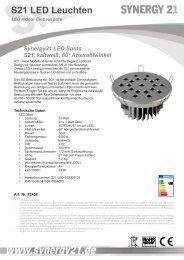 S21 LED Leuchten - Synergy21