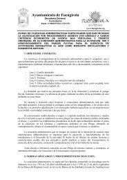 01 pliego licencias actividades parque fluvial 19 12 - Ayuntamiento ...