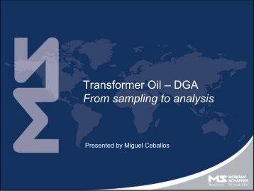 Transformer Oil – DGA From sampling to analysis - Carilec