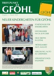 Neu - Stadtgemeinde Gföhl