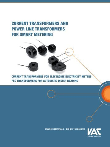 Current transformers and Power Line ... - Allstar Magnetics