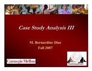 Case Study Analysis III - TechBridgeWorld