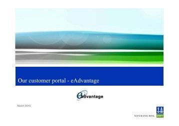 eAdvantage customer presentation (pdf) - DNV Business Assurance