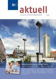 Ausgabe 1 / 2012 - BIG  BAU-Unternehmensgruppe