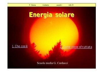 energia solare 1 - Mo-Net - Comune di Modena