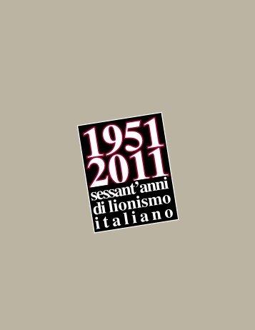 sessant'anni di l i o n i s m o italiano - The Lion