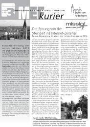 MEF Kurier 3-2012.pdf - Pastorale Informationen