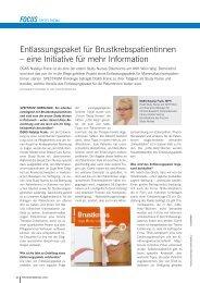Download Interview Spectrum Onkologie - Forum Study Nurses ...