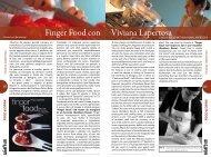 Finger Food con Viviana Lapertosa - Comosmagiclake.com