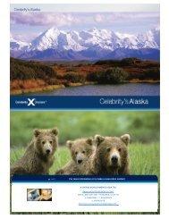 Alaska Cruise Brochure - A Cruise World