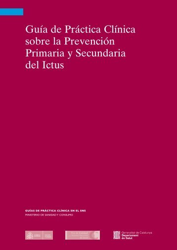 GPC sobre Prevención del Ictus - GuíaSalud