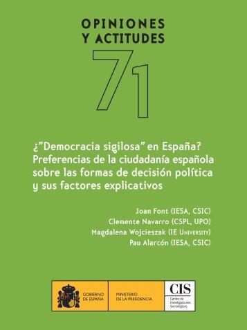 pdf ebook - Librería - Centro de Investigaciones Sociológicas