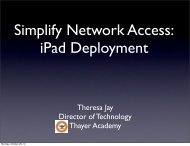 PDF FIle (4MB) - EdTechTeacher iPad Summit USA