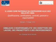 Relazione Amorotti - Ordine degli Ingegneri della Provincia di Bologna