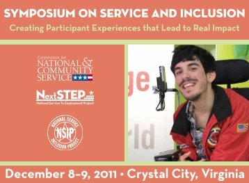 December 8–9, 2011 • Crystal City, Virginia - National Service ...