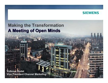 Making the Transformation A Meeting of Open Minds - NES ...