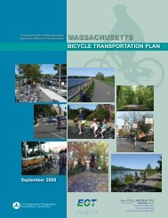 2008 Massachusetts Bicycle Transportation Plan - Old Colony ...