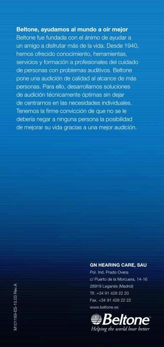 Folleto Técnico - Beltone.es