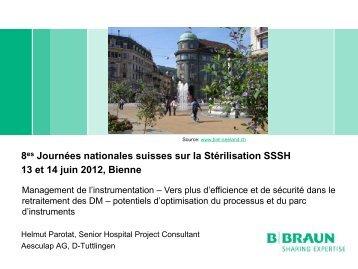 SGSV Juni 2012 Biel Bienne - Société Suisse de Stérilisation ...