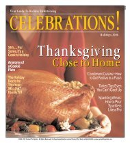 'Condiment Cuisine':How to Get Festive in a Flash Turkey Tips Even ...