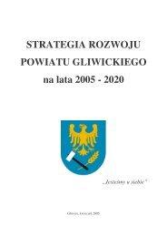 STRATEGIA Rozwoju Powiatu Gl 2002 2006 - Powiat Gliwicki