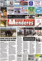 26 Nisan tarihli Küçükmenderes gazetesi