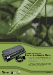 Power Monitoring Meter 8108L