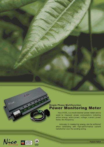 Power Monitoring Meter 8108L