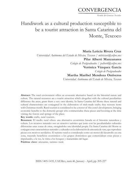 572caab40c 08 M Leticia Rivera English OK.pmd - Convergencia - Universidad ...