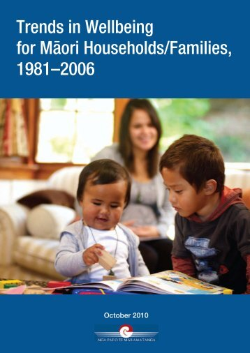 Trends in Wellbeing for Mäori Households/Families, 1981–2006