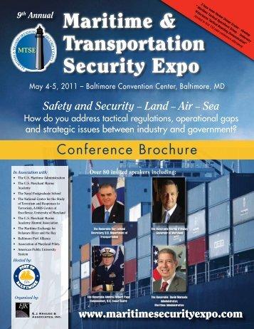 Maritime & Transportation Security Expo - TV Worldwide