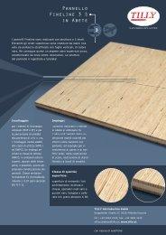scheda panello fineline 3-s