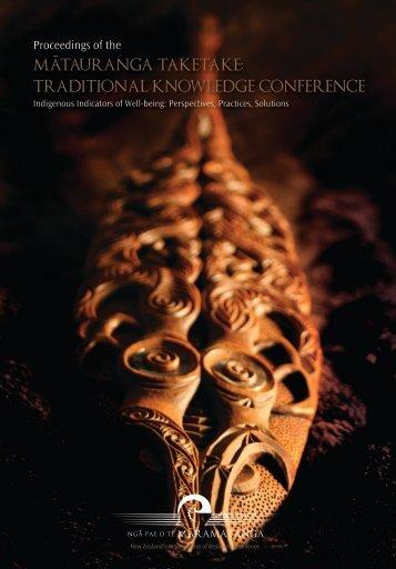 2006 Conference Proceedings - Ngā Pae o te Māramatanga