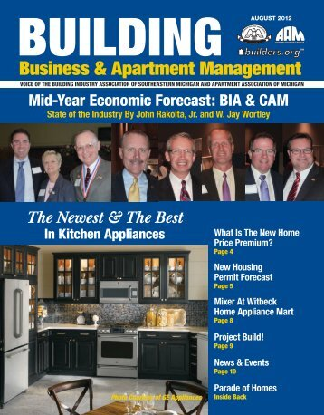 August 2012 BBAM Magazine - HBA of Southeastern Michigan